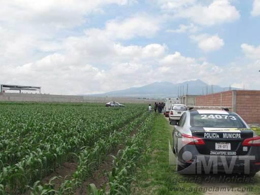 Encuentran cuerpo en descomposición en Zinacantepec
