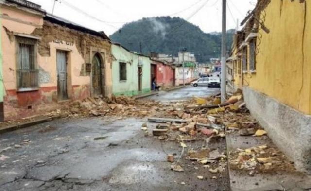 Sismo en Guatemala deja dos muertos