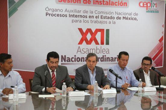 Comienzan trabajos del PRI mexiquense rumbo a la XXII Asamblea Nacional de ese instituto político