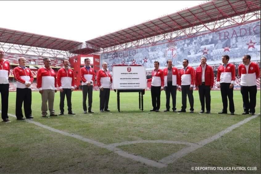 Esta temporada, Toluca será campeón: Peña Nieto