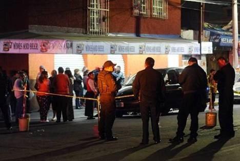 Triple homicidio realizado por grupo armado en Iztapalapa