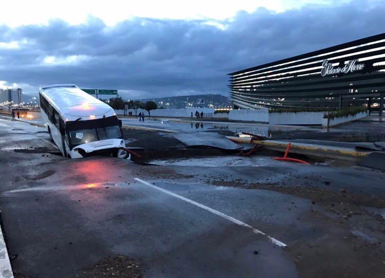 Tormenta inunda Querétaro