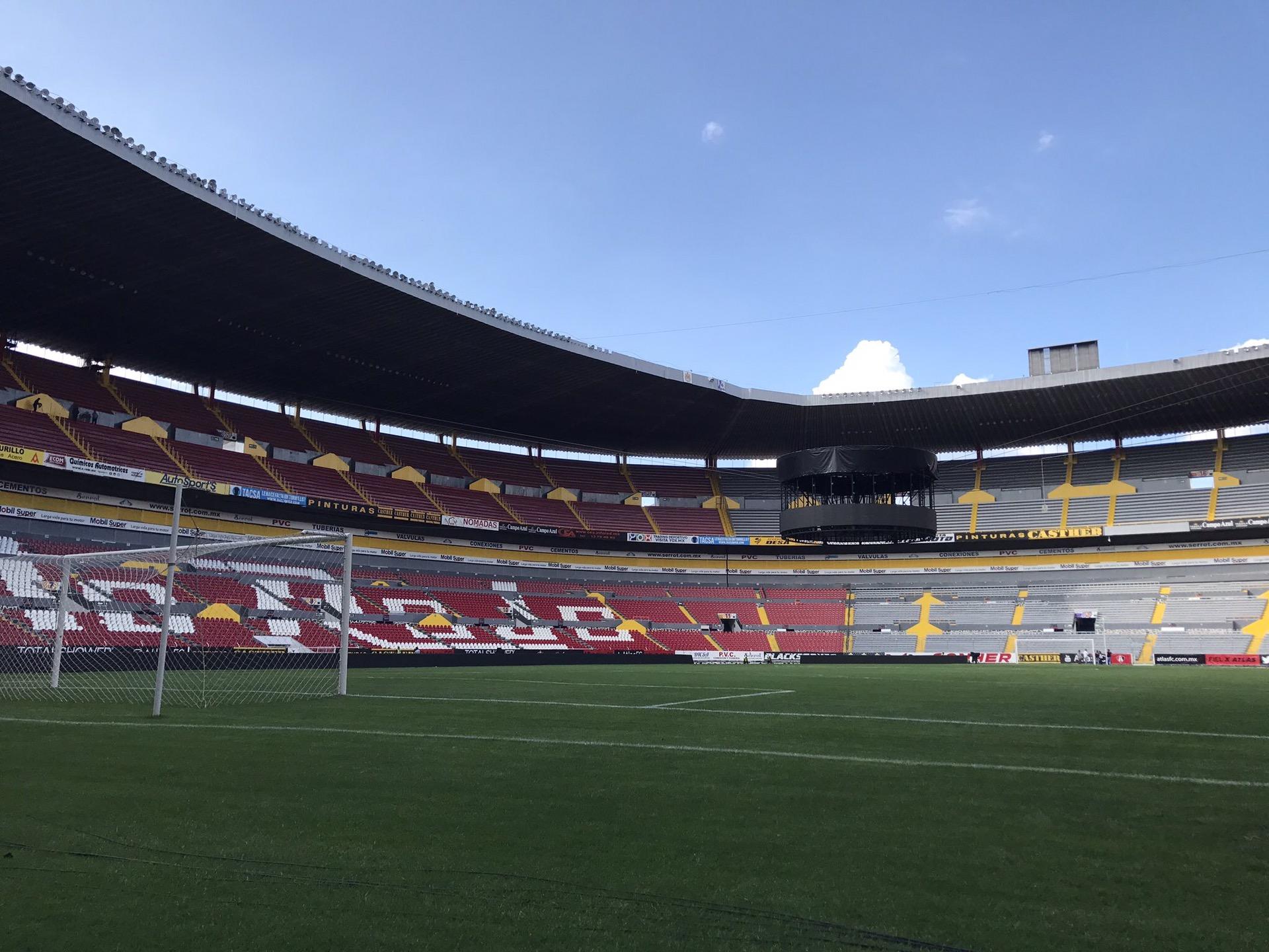Clausuran Estadio Jalisco