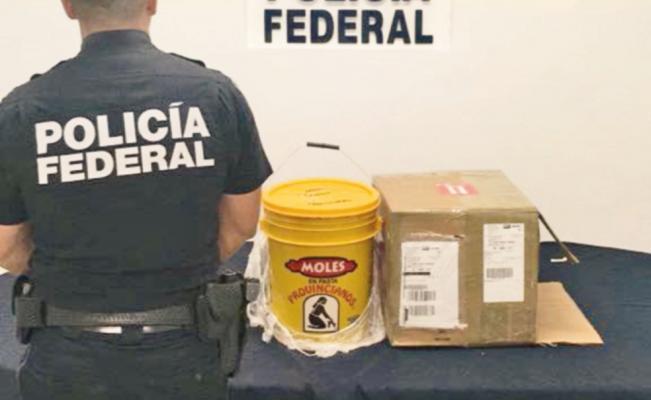 """Trafican droga en productos """"gourmet"""""""