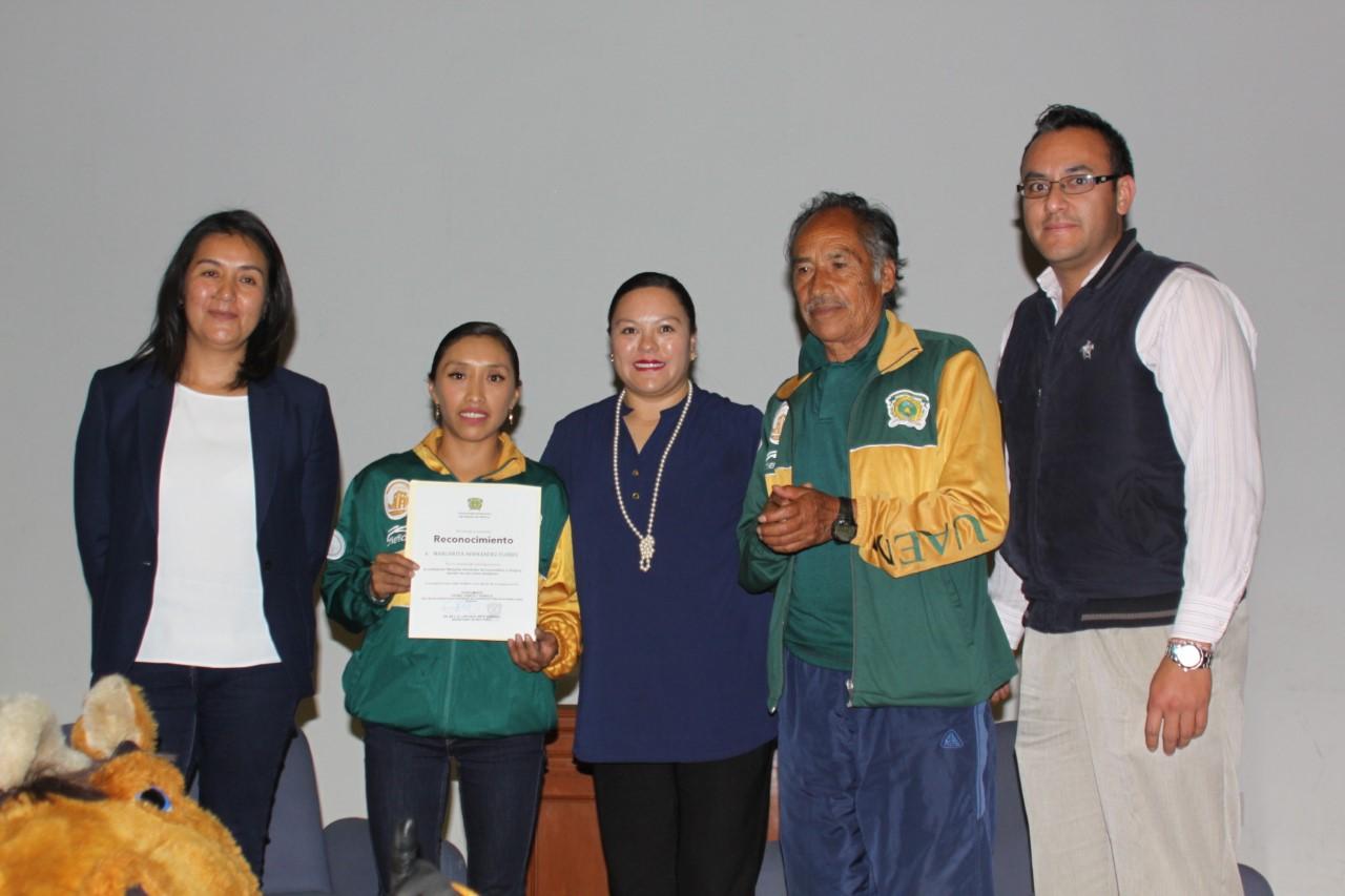 Margarita Hernández: Un ejemplo del Deportea nivel nacional