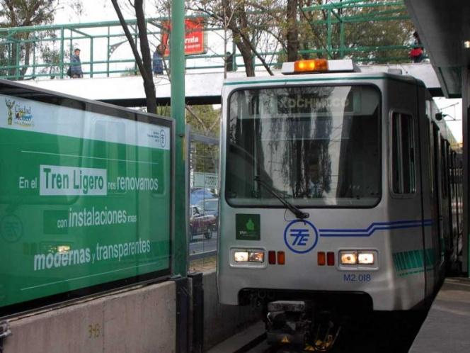 Falla en Tren Ligero deja sin servicio nueve estaciones