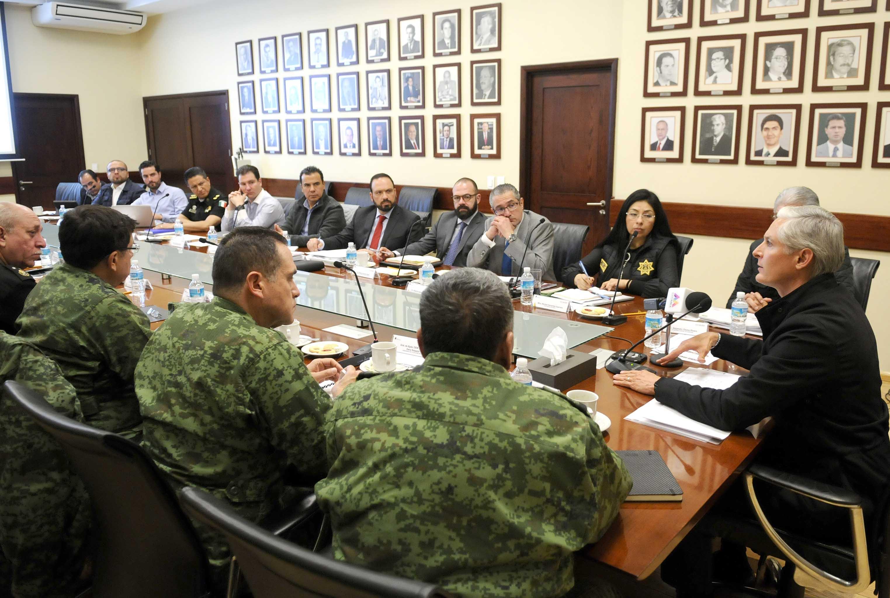 GEM invita a Municipios a participar y crear estrategias coordinadas con el grupo de seguridad el EDOMEX