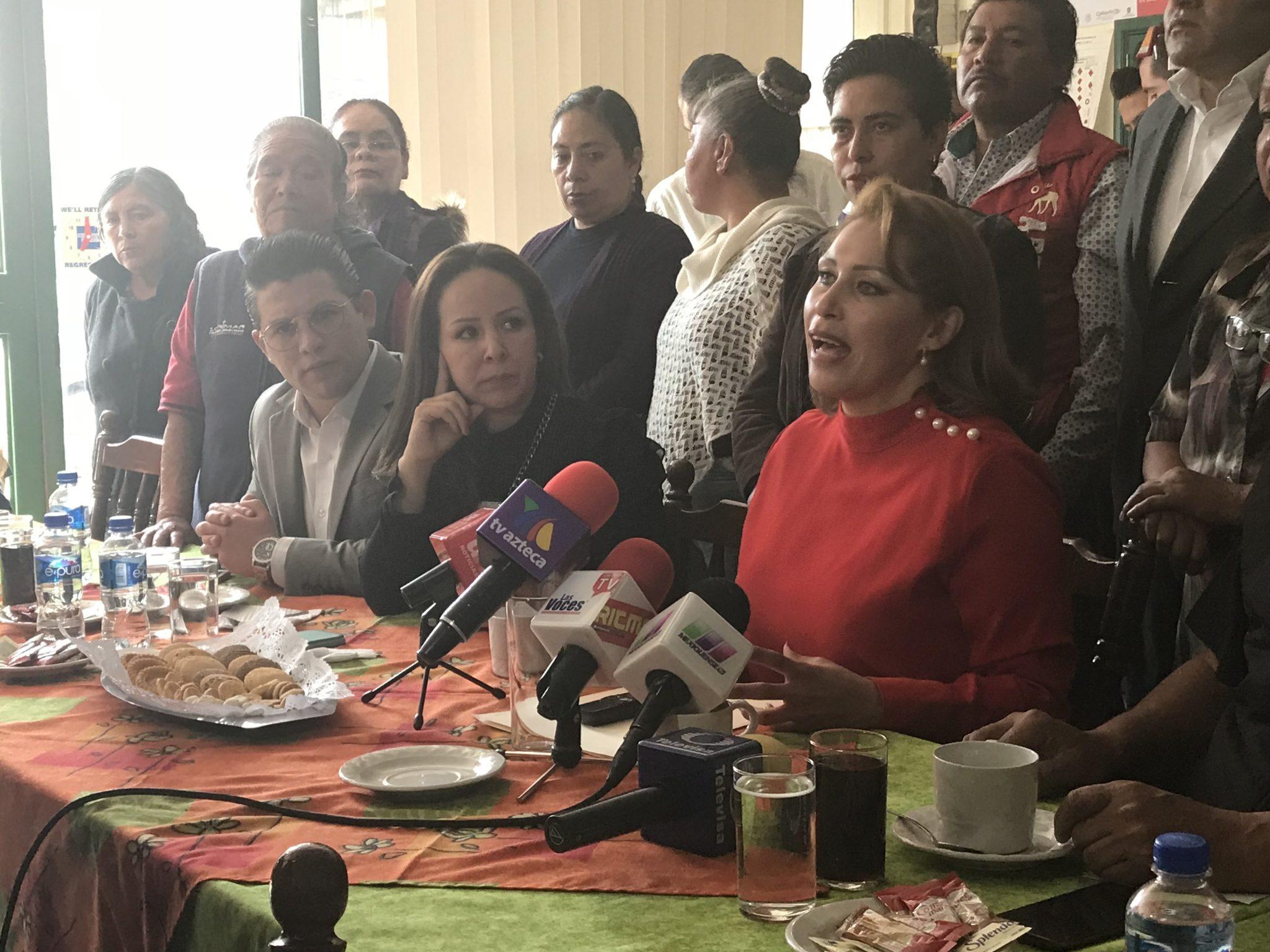 Niega Mónica Fragoso haber buscado candidatura en Morena