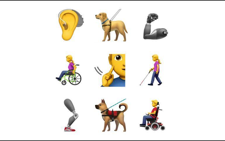 Apple diseña emojis para representar discapacidades