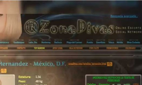 Arrestan a administradora de Zona Divas portal donde se anunciaban las scorts asesinadas