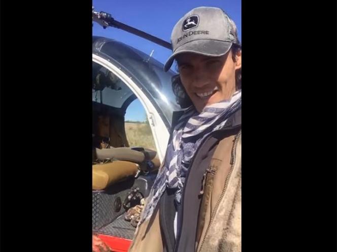 Cavani desata polémica por la caza de un jabalí