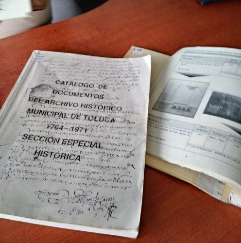 Resguarda El Archivo Histórico Municipal De Toluca Más De 4 Mil 500 Volúmenes