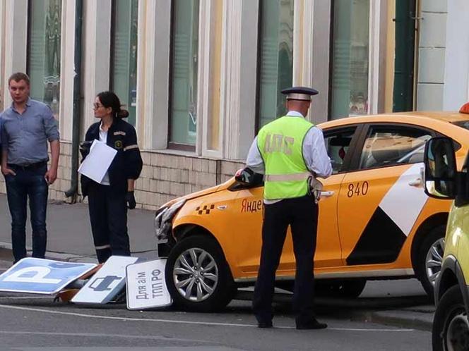 Kremlin, aliviado de que no hubo muertos en accidente de taxi