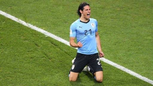 Uruguay eliminó al Portugal de Cristiano con un doblete de Cavani