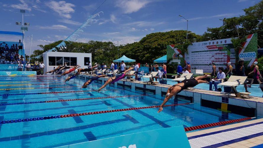 Gana Edoméx con cuatro medallas de oro en natación en la Olimpiada Nacional 2018