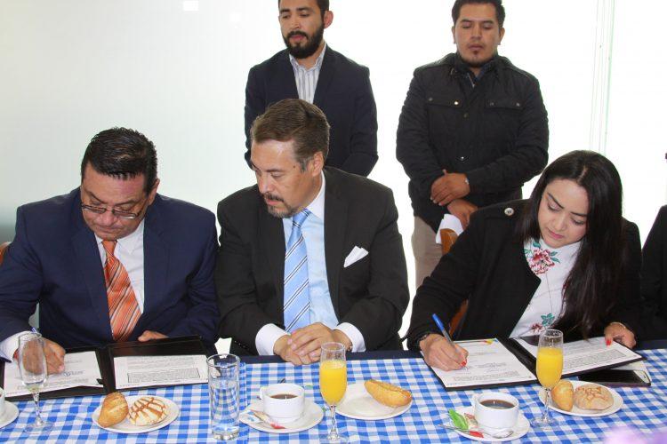 Firman la Secretaría de Justicia, Derechos Humanos y el Tecnológico de Monterrey convenio de capacitación en atención a víctimas