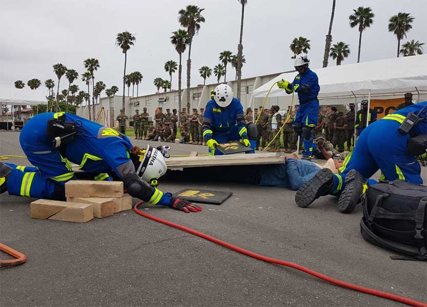 Elementos de Semar se capacitan con marinos de Estados Unidos en Hawái
