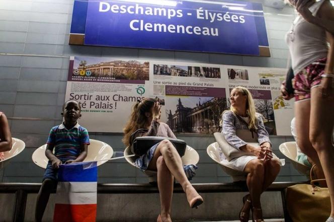 Metro de París renombra estaciones en honor a los campeones