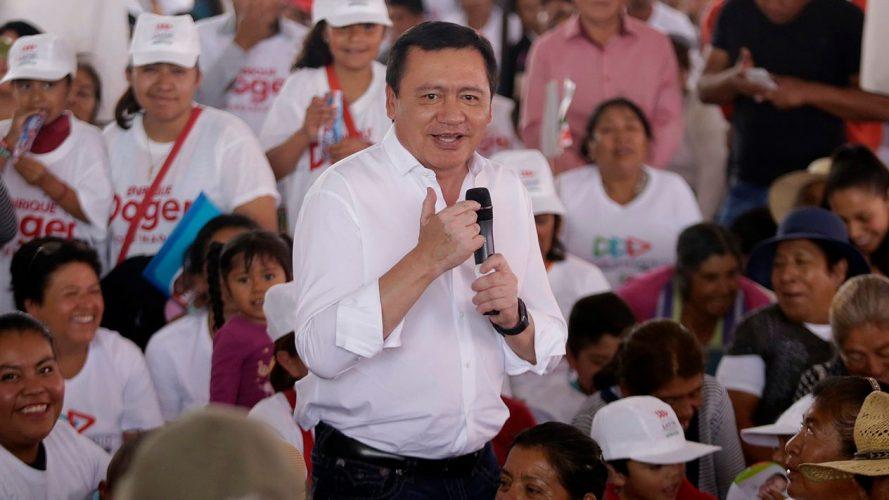 Osorio Chong será coordinador del PRI en el Senado