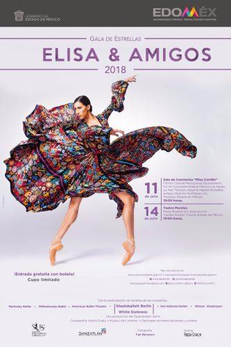 """Llega a Edoméx la Gala de Estrellas """"Elisa y Amigos 2018"""""""