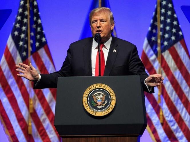 Detendrá Trump a caravana de migrantes con más tropas en la frontera