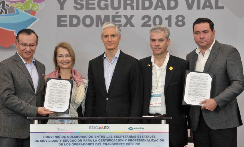 Fortalece Edoméx sistemas de transporte público para brindar mayor seguridad, disminuir tiempos y gastos de traslado: Alfredo Del Mazo