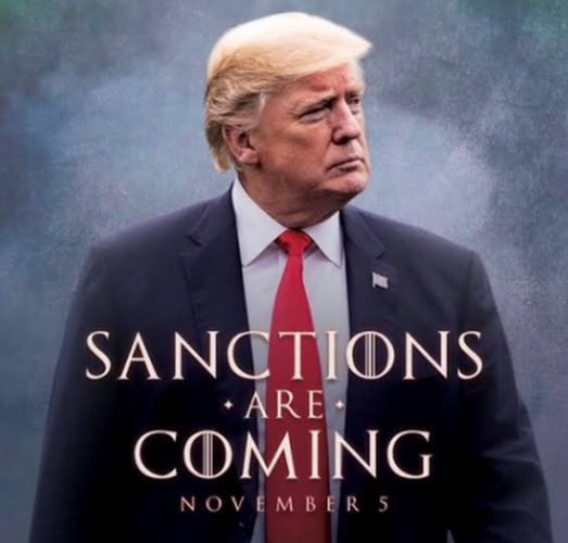 Donald Trump usa la estética de 'Game of Thrones' para advertir a Irán