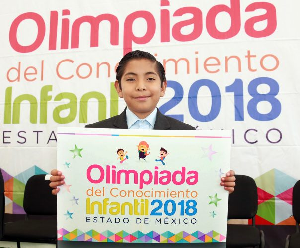 Reconocen a ganadores de la Olimpiada Del Conocimiento Infantil 2018