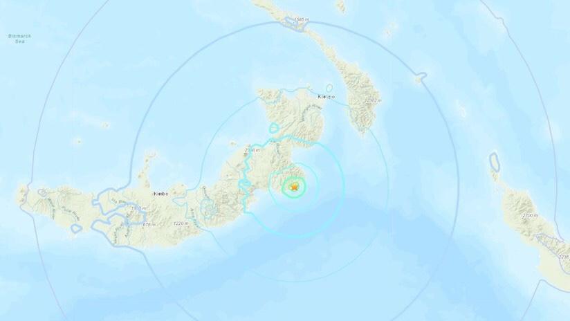 Sismo de 5.9 de magnitud sacude Papúa Nueva Guinea