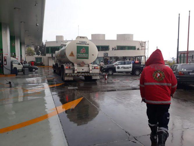 Con Operativos Gasolinera Segura y Presencia el Gobierno de Toluca salvaguarda a la población