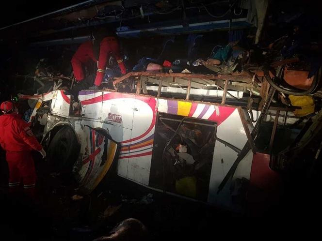 24 muertos tras accidente de transito en Bolivia