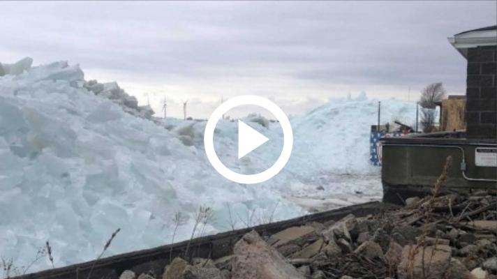 Sorprende a Estados Unidos un Tsunami de hielo