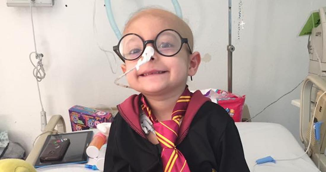 """""""Gigi"""", la niña mexicana con leucemia fanática de Harry Potter, fallece a los 4 años de edad"""