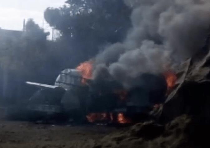 Pipa de gas explota en Milpa Alta, CDMX; hay heridos graves (FOROtv)