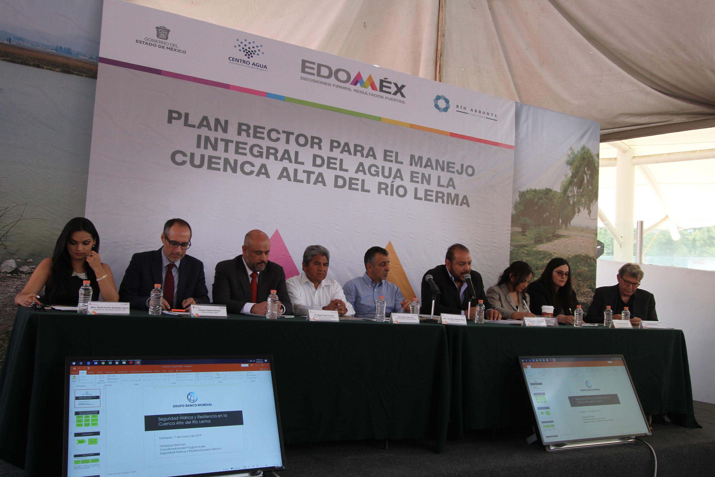 Inicia Edoméx trabajos para lograr el manejo integral de la cuenca alta del río Lerma