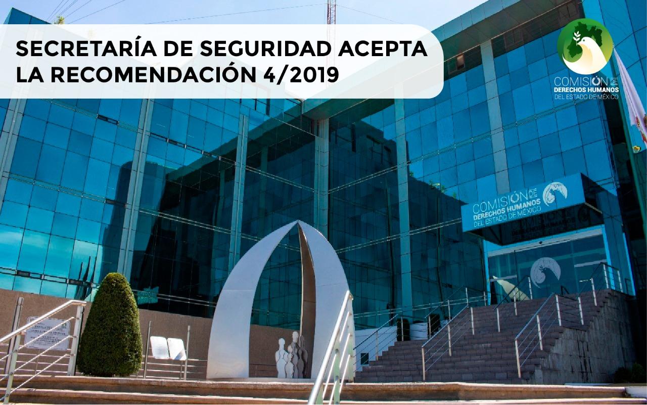 Secretaría de Seguridad acepta recomendación de la CODHEM por muerte de dos internos en penal de Chiconautla