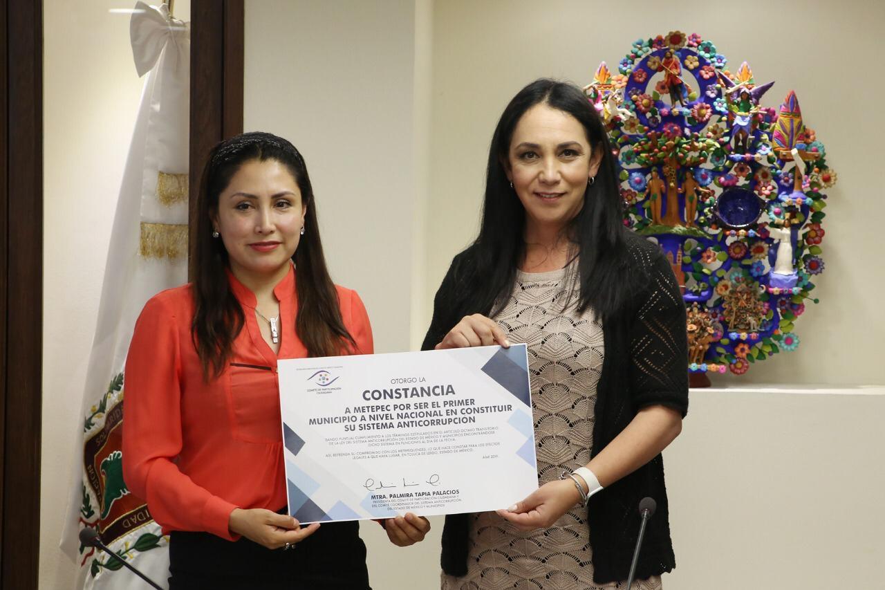 Reconocen liderazgo de Gaby Gamboa en materia de transparencia y lucha contra la corrupción