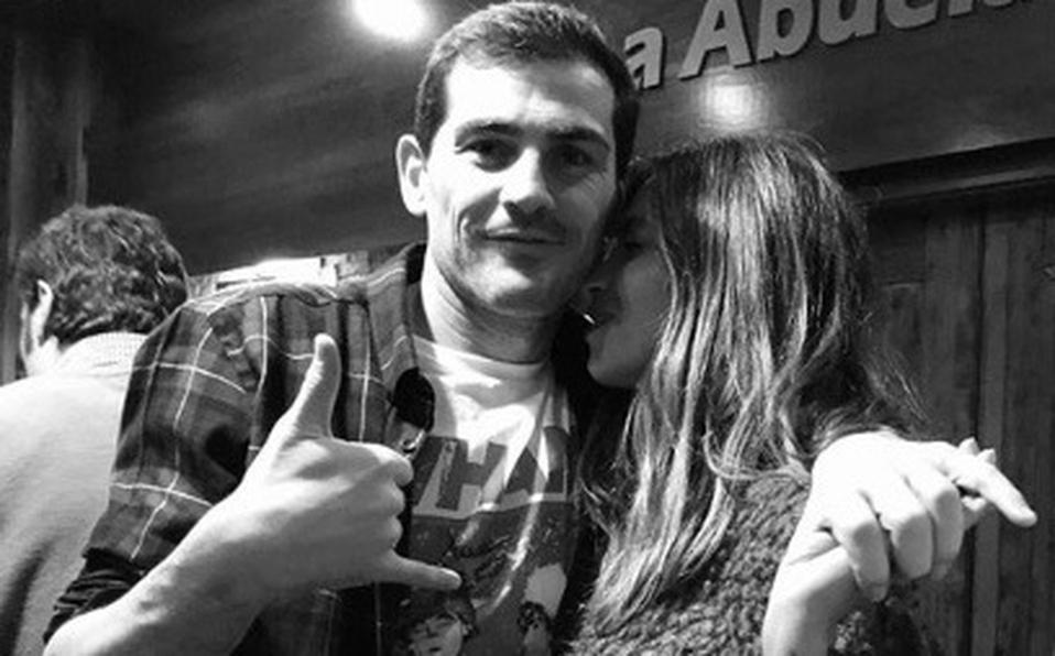 Sara Carbonero esposa de Iker Casillas fue operada de un tumor maligno