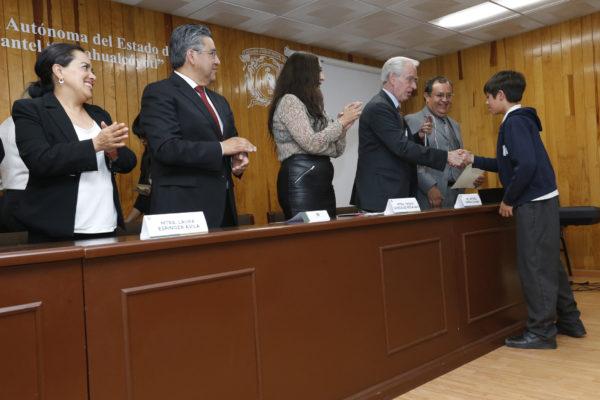 UAEM fue sede de ceremonia de premiación  de la XXIV Olimpiada Estatal de Informática