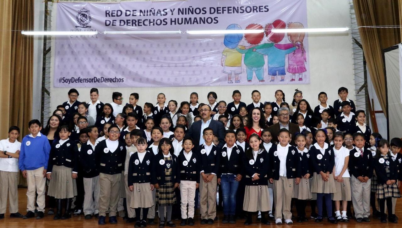 Construye Toluca una Cultura de Paz desde la niñez