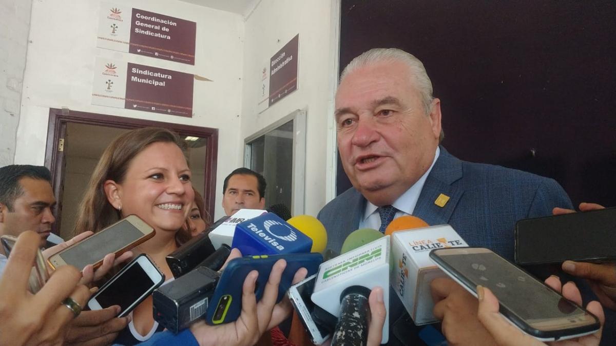 Se reúne Sanz Rivera con la síndica del Ayuntamiento de Cuernavaca