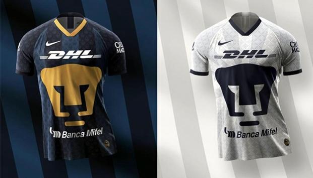 Pumas presenta sus nuevos uniformes