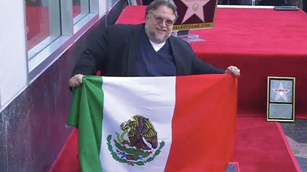 Guillermo del Toro develó su estrella en el Paseo de la Fama de Hollywood
