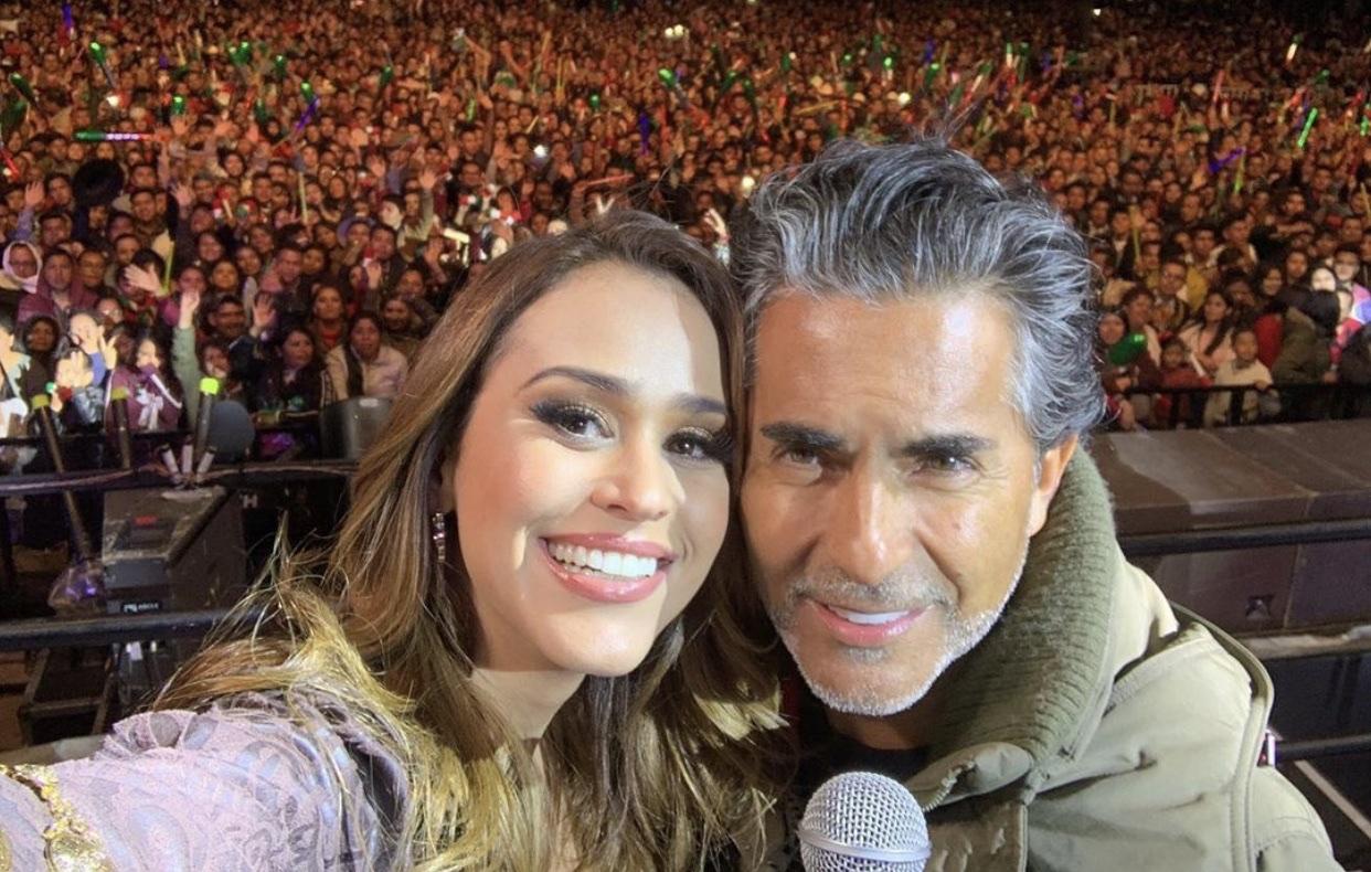 Yanet García y Raúl Araiza se metían a los camerinos juntos