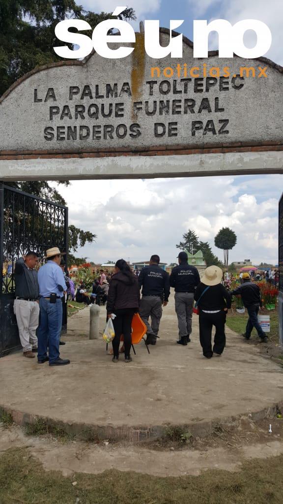 Reportan saldo blanco durante el Día de Muertos en Toluca