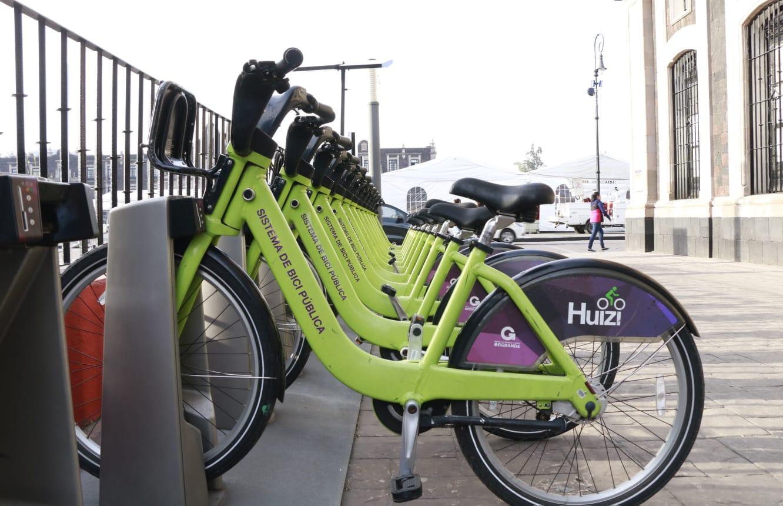 """Celebra Toluca cuatro años del Sistema de Bicicleta Pública """"Huizi"""""""