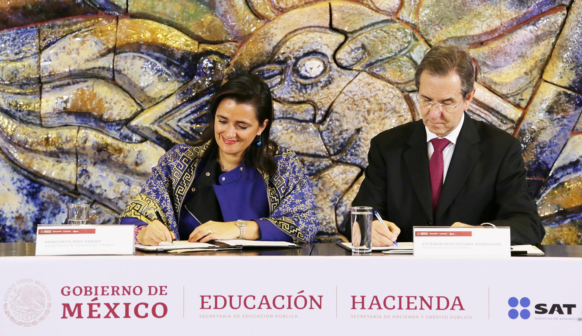 SEP y SAT promoverán el civismo fiscal