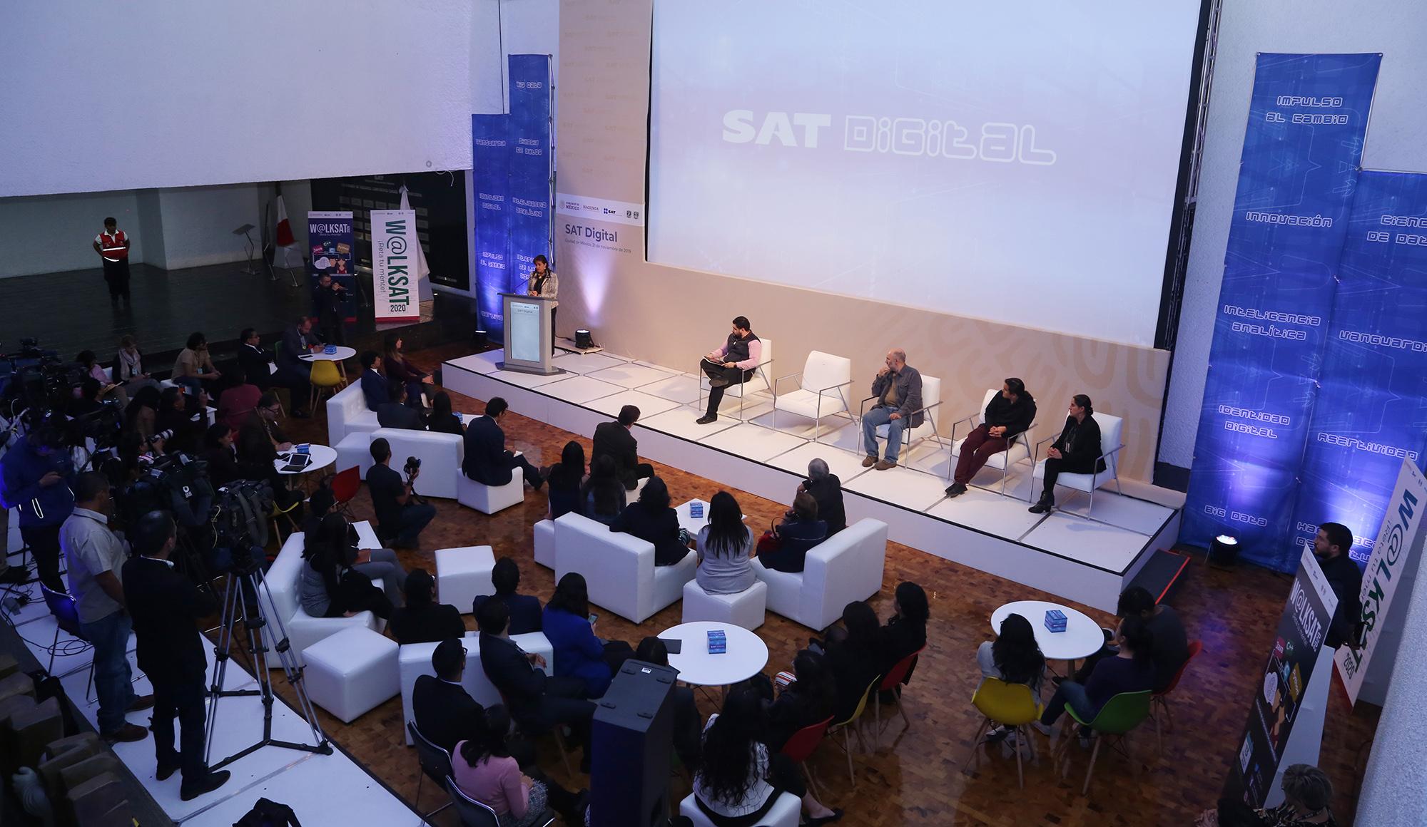 SAT anuncia estrategia digital para atraer a jóvenes talentos