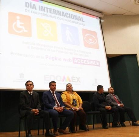 Presentan página de internet accesible para personas con discapacidad