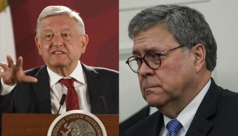 El presidente Andrés Manuel López Obrador calificó como buena la reunión con el fiscal general de Estados Unidos, William Barr, que ambos sostuvieron este mediodía en Palacio Nacional.